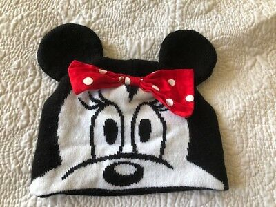 'Disney'  Minnie Mouse Hat  7-13 year old