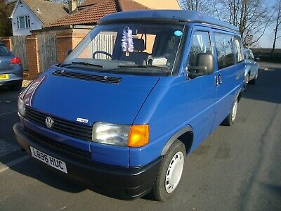 VW T4 Pop Top Campervan 4 Berth Rare Reimo Conversion Fully Loaded May PX