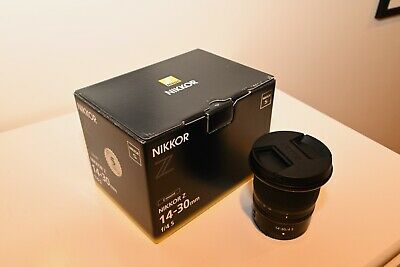 Nikon NIKKOR Z 14-30mm f/4 S Camera Lens - Pristine Condition - FREE SHIPPING