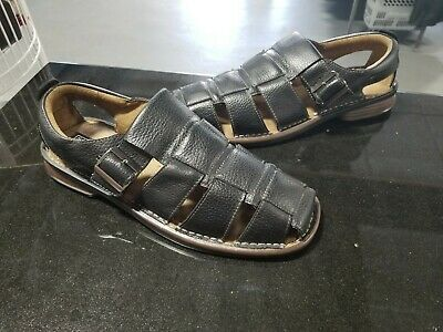 Stacy Adams Men/'s Sacchi Classic Closed Back Fisherman Sandals White 25035 New