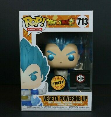 Funko Pop! Dragon Ball Super 713 Vegeta Powering Up Chase Chalice Exclusive