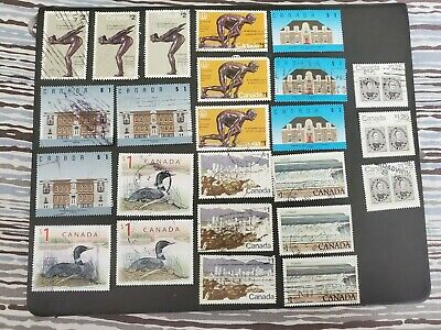 CANADA USED  STAMP LOT #41 - Part 4