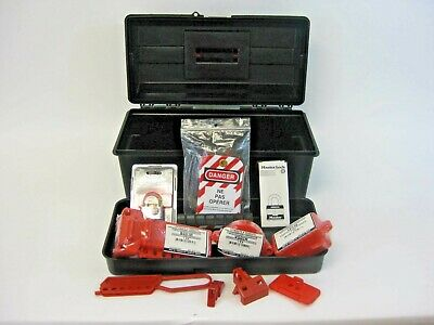 North Honeywell Lockout Tagout Safety Française/ French Kit NEW IN BOX