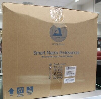 Clearaudio Smart Matrix professional record cleaning machine in ex display cond