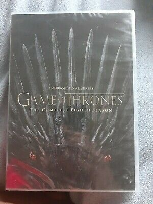 Game of Thrones The Complete Eighth 8 Season DVD 4 discs set FACTORY SEALED
