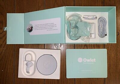 Owlet Smart Sock 2 Baby Monitor, minimal use, very clean, barely used