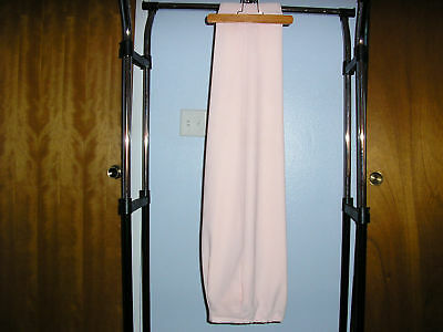 Compagnie International Express Lined Pale Pink Pants Medium EUC