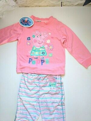 Peppa Pig / Winter P.J. Set / Girls / Sizes 2, 5 And 6.