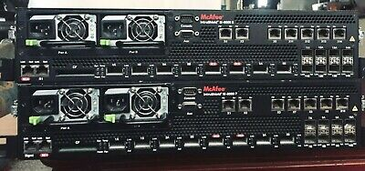 McAfee INTRUSHIELD Network Security  M-8000 P & S - security appliance