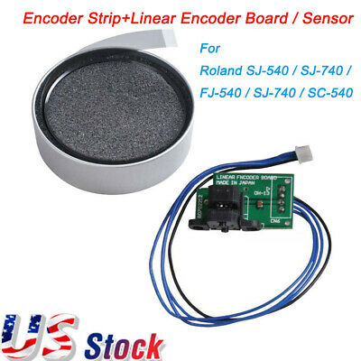 US Encoder Strip+Linear Encoder Board / Sensor for Roland SJ-540/SJ-740/FJ-540