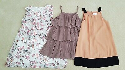 AS NEW Girls dresses Origami x2, gum Size 8