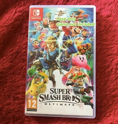 Super Smash Bros. Ultimate (Nintendo Switch, 2018) - Excellent condition