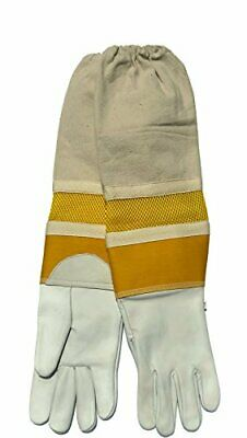 Primeonly27 Ventilated Beekeeping Gloves XL Size Extra Large Goat Skin