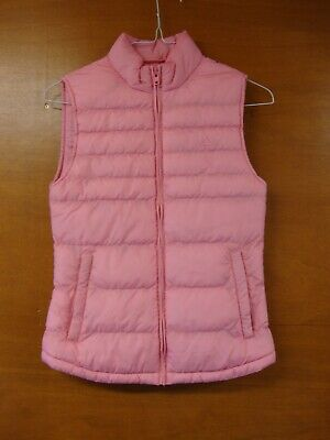 Jack Wills Pink Quilted Gilet Size 8 Years Old - Selling For Charity