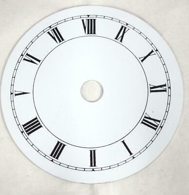 Metal clock Dial French Clock Dial Roman Numerals For Timepiece 8.5cm