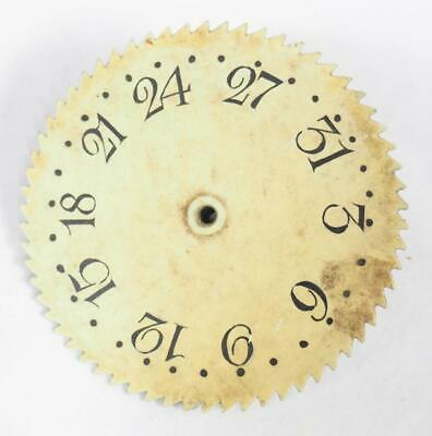 Longcase Calendar Dial - Date Dail For Grandfather Clock . Calendar Wheel 19THC