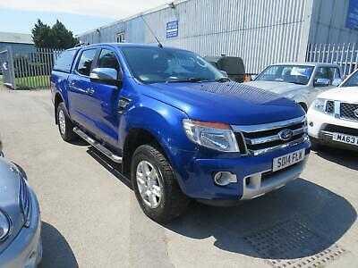 STUNNING 2 OWNER 2014 FORD RANGER 3.2 TDCi LIMITED DOUBLE CAB IN BLUE