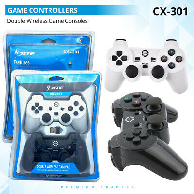 Double Dual 2 Wireless Gamepads Game Controllers Joystick For Playstation PC TV
