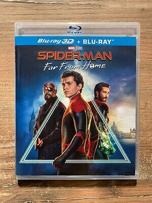 Bluray Spider-Man Far From Home (Marvel) Import UK - Comme Neuf - Pas 3D