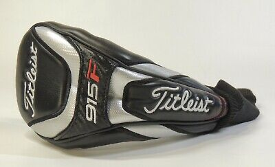 Looks New Titleist 915F Fairway Headcover Club Head Cover Golf Black Silver Red