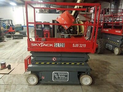 Skyjack SJ III 3219 19 ft Electric Scissor Lift