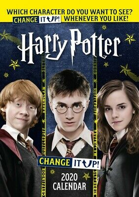 Harry Potter - Change It Up Poster Official Calendar 2020 (17x12in) #126555