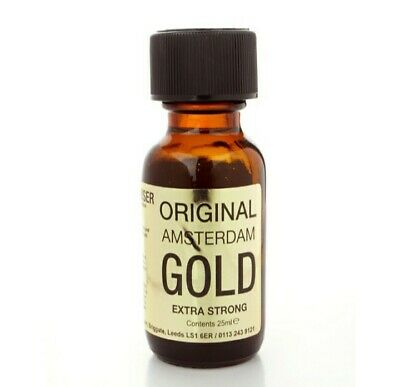 Amsterdam Gold 25 ml, liquide aroma, poppers