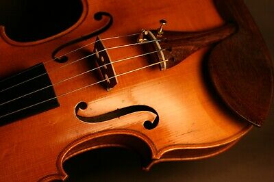 Fine Old Antique French Violin By Laberte After J.b. Vuillaume Circa 1920, Video