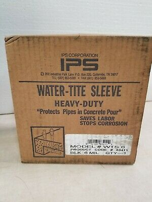 IPS 6x200 Water-Tite Pipe Sleeving WTS6