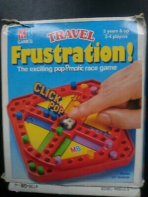 Travel Frustration - 'Pop-o-Matic' Game 1986 Boxed MB Games