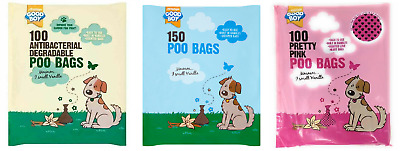 Good Boy Dog Pet Puppy Poo Bags Cheap Dirt Waste Pick Up Bag Vanilla Scented