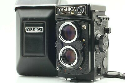 [MINT] YASHICA Mat 124G TLR Film Camera Yashinon 80mm F/3.5 From JAPAN