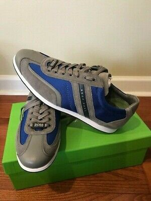 Hugo Boss Stiven Blue Sneakers MENS Shoes  Size US 10 BRAND NEW