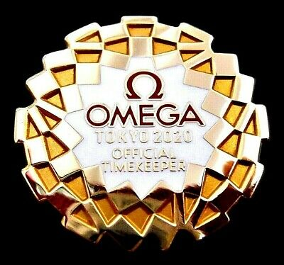 New Beautiful Omega  Tokyo 2020 Olympic Games Collector Pin Japanese Japan