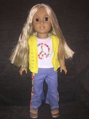 American Girl Doll Julie Albright Blonde Doll/Great Condition