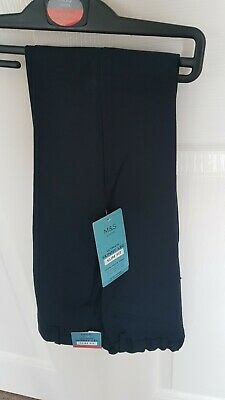 Boys Navy Skinny Leg Slim Fit School Trousers Age 8-9 From Marks And Spencer...