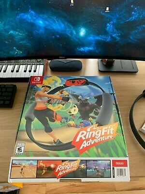 Ring Fit Adventure -- (Nintendo Switch authentic), USED ONCE ONLY!!!!