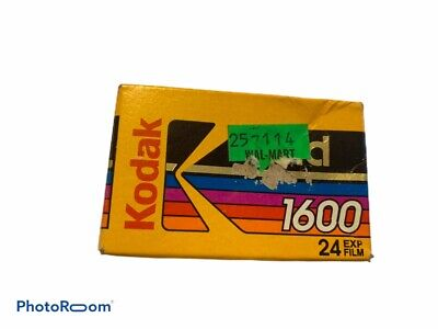 Kodak Gold Kodacolor 35mm Color Print Film 1600 Speed 24 Expired 02/1995 NEW