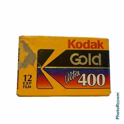 Kodak Gold Ultra 400 Color Print Film 12 Exp. Expired 12/1995 New Sealed