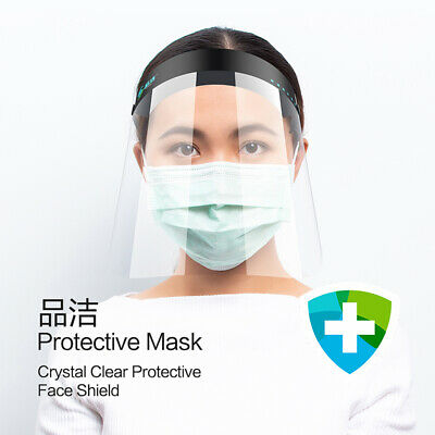 Safety Full Face Shield Clear Vision Office Shop Work Industry Dental Medical