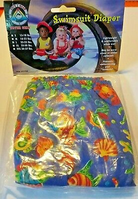 Swimsuit Diaper Reusable Lightweight Comfortable L - 22-25 lbs Kid's Wear