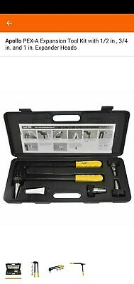 Apollo PEX-A Expansion Tool Kit with 1/2 in., 3/4 in. and 1 in. Expander Heads