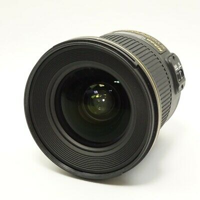 Nikon AF-S NIKKOR 20mm F1.8G ED lens Working Properly F/Shipping (d1731