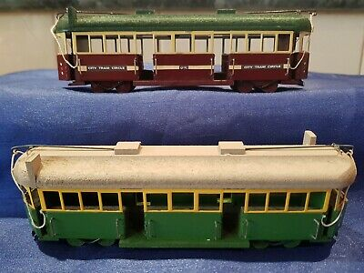 Melbourne Tram W2 Class Hand Made Timber  George Kob Model