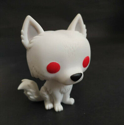 Funko Pop #19 Game of Thrones Ghost Vinyl Figure without Box