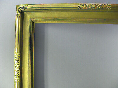 """American Arts & Crafts  Antique Newcomb Macklin Style Picture Frame 16"""" X 20"""""""