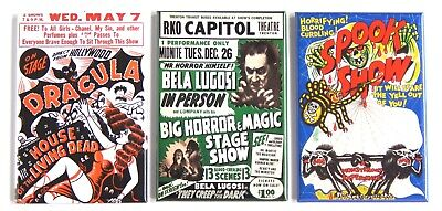 Dracula Spook Show FRIDGE MAGNET movie poster halloween