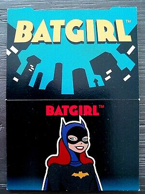 "1995 Skybox Dc Comics Batman & Robin "" Pop Up "" Trading Card - Batgirl"