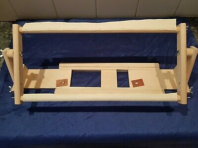 K's Creations Original Lap Scroll Frame Basic Lap Embroidery Frame Adjustable