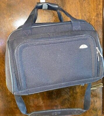 SAMSONITE  Carry On Weekend Under Seat Overnight Blue Bag Luggage 17 Inch